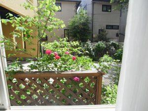 久我山ガーデンテラス 103号室 窓からの景色