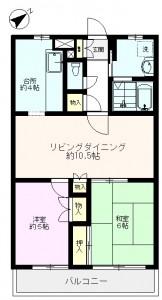 アベニール吉祥寺(北町)202_間取り図