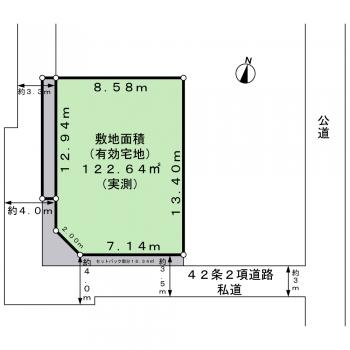 善福寺2丁目-11-22 区画図