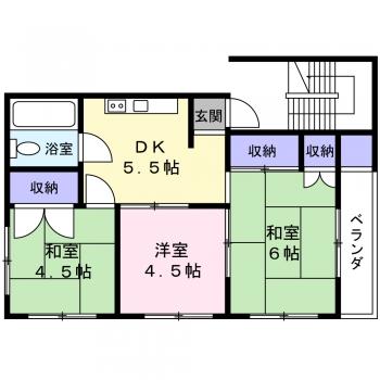 武蔵野サンハイツ201